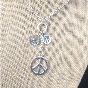 Peace Baby!  Necklace